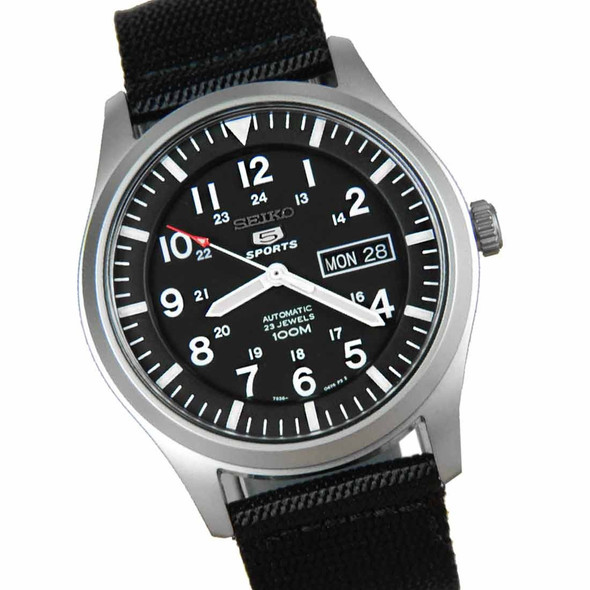 Seiko military automatic watch SNZG15K1