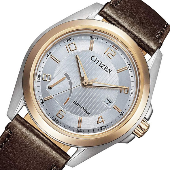 Citizen AW7056-11A Leather Watch
