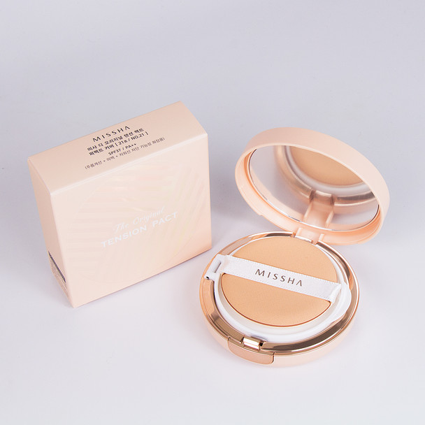 MISSHA PERFECT COVER SHADE 21 ORIGINAL TENSION PACT SPF37 PA++ 8806185788021