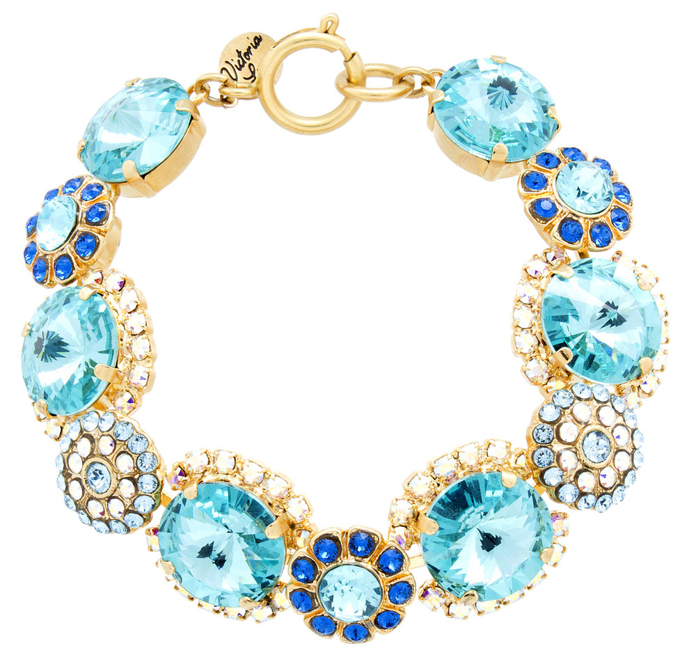 Bracelet - Sparkle Collection - Victorian Rivolis