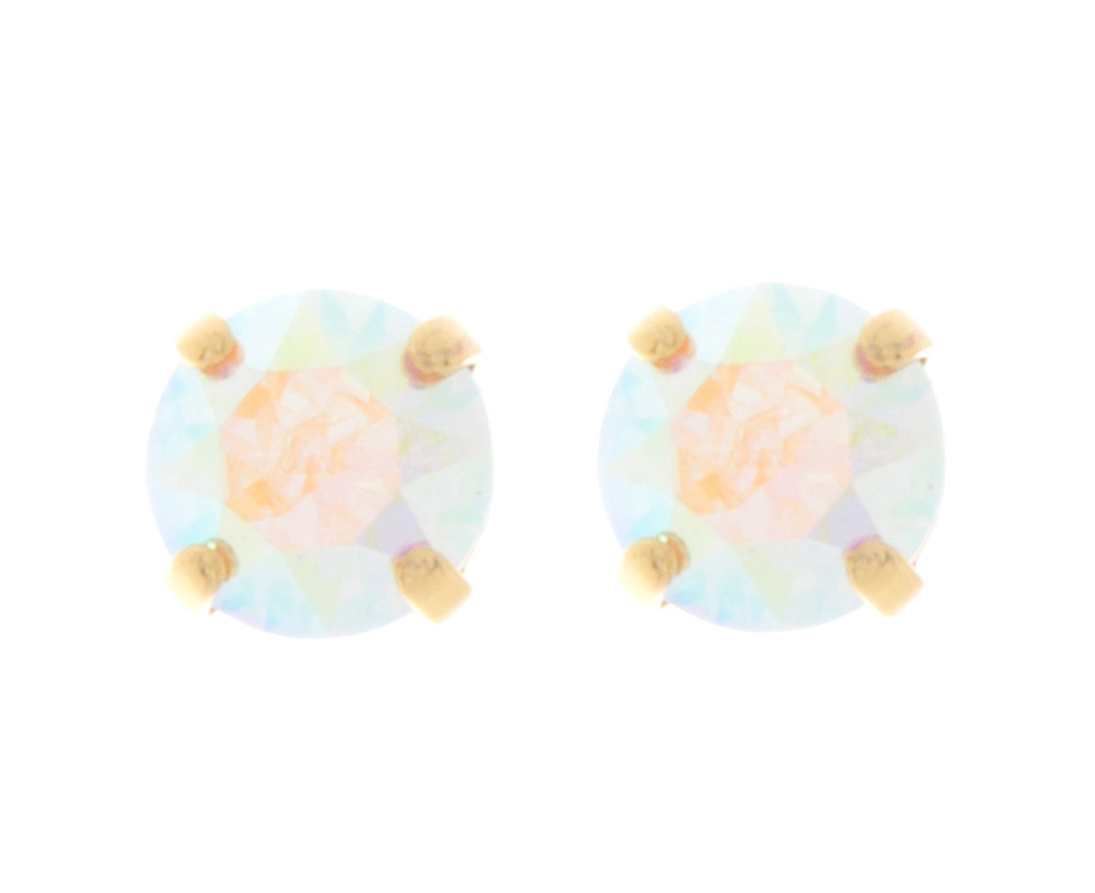 Children's 8mm Stud Earrings Gold