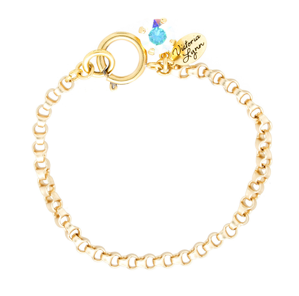 8mm Rollo Gold Bracelet