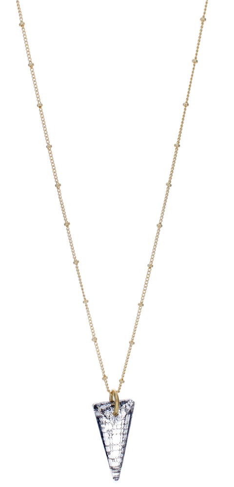 Black Patina Kite Necklace