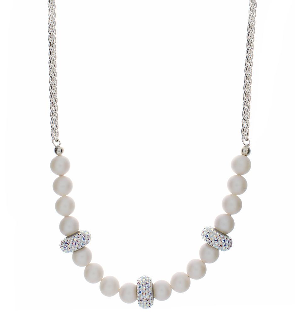 Short Pave  Necklace
