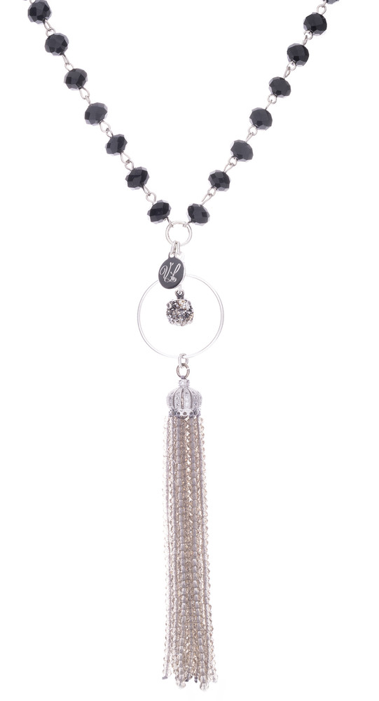 8mm Tassel Necklace