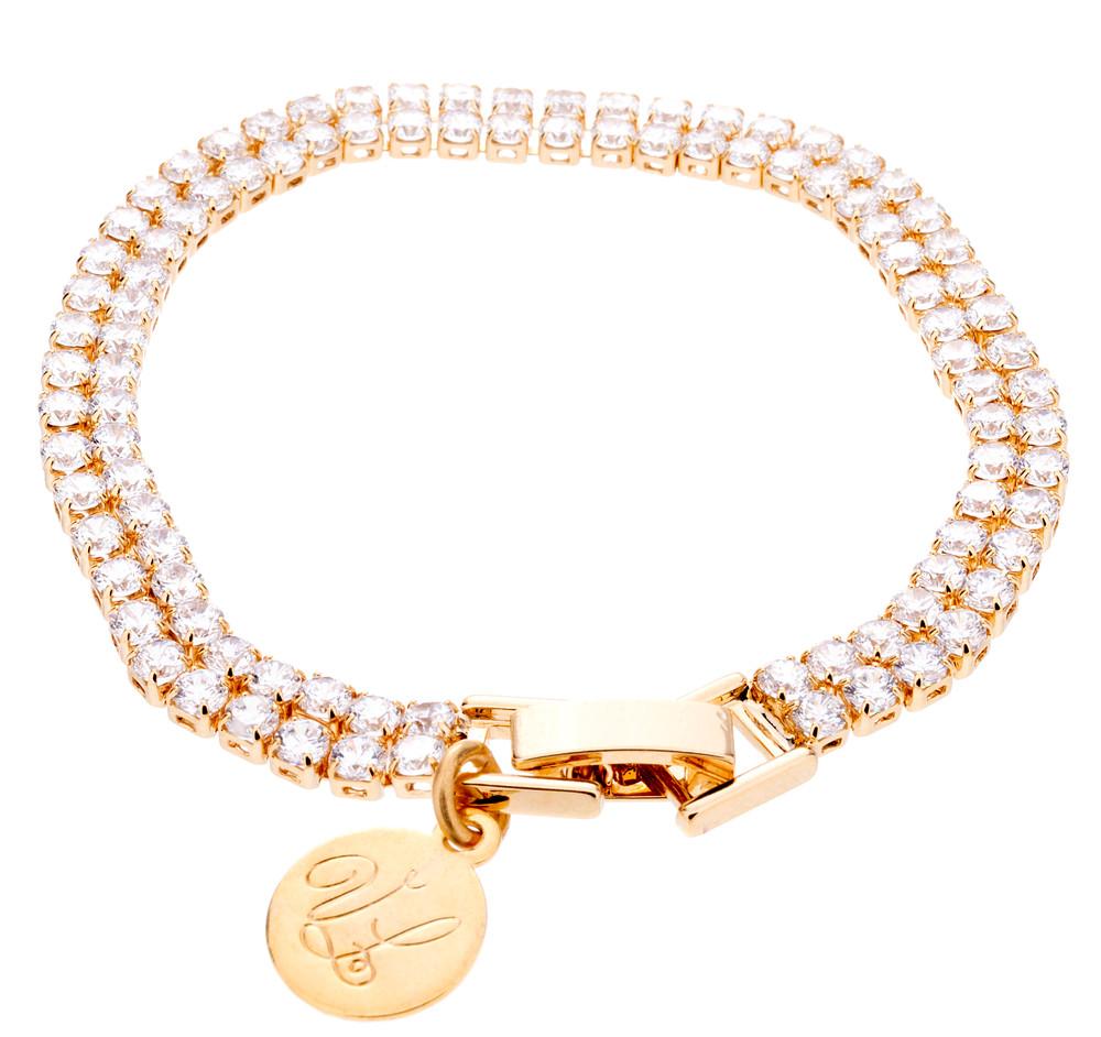 CZ Double Tennis Bracelet