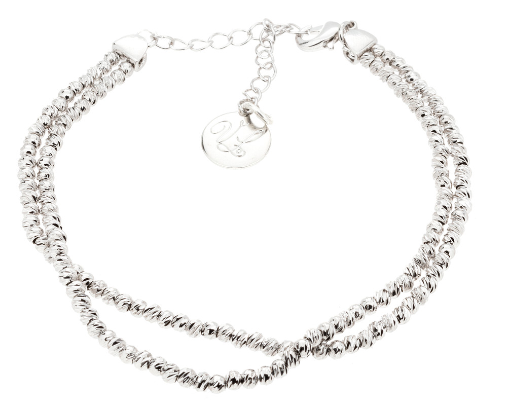 CZ Sea Wave Bracelet