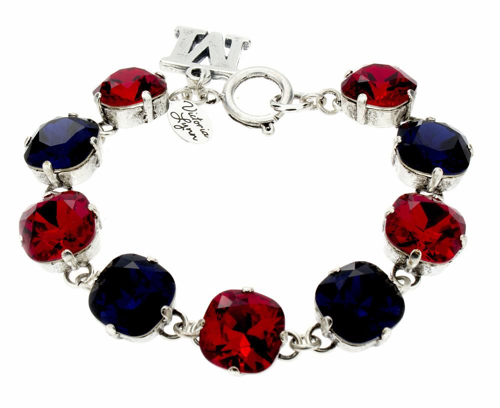 12mm Ole Miss Sports Line Bracelet