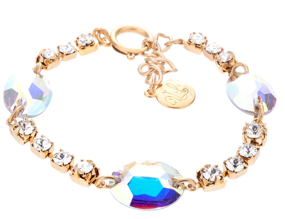 Midnight Dreamer Bracelet - Crystal Ab