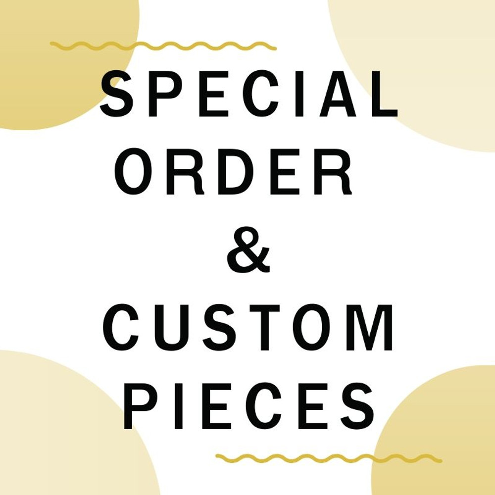 **Prices will be determined once order is received**  ** No exchanges, alterations or refunds for any final custom pieces**  **Make at your own risk**