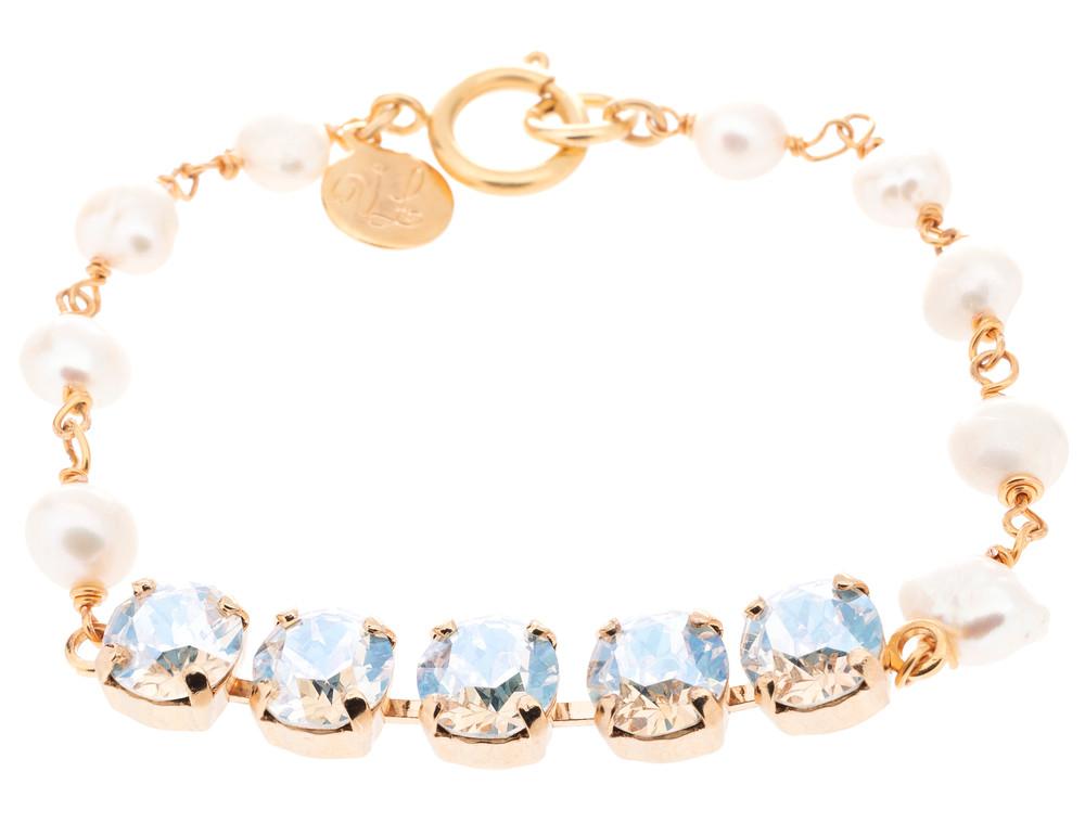 8mm & Pearl Bracelet
