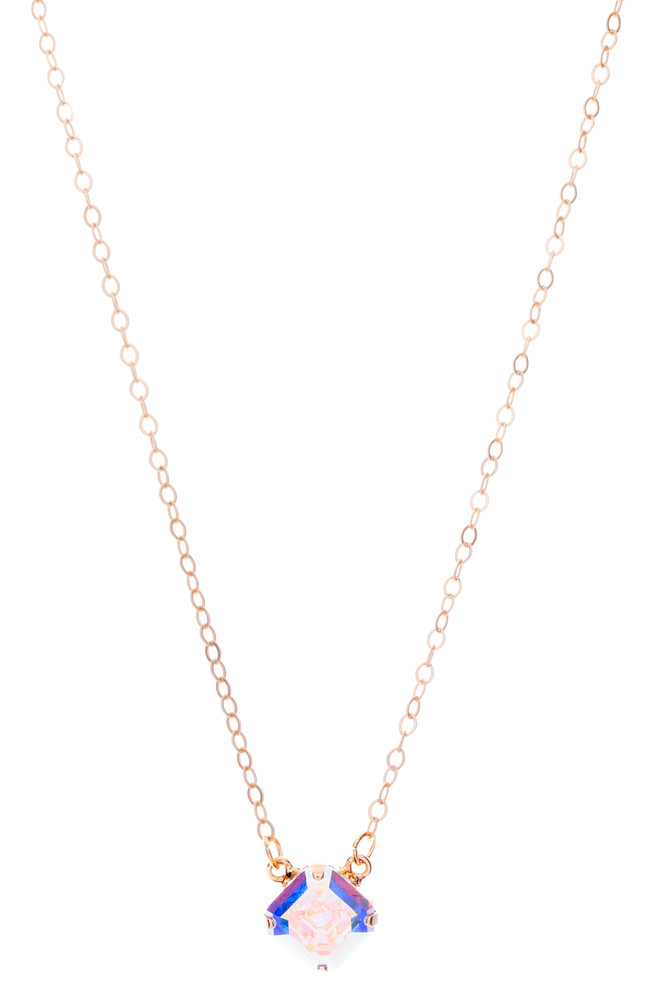 Asscher 10mm Necklace