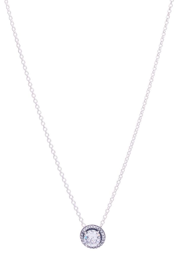 CZ Fancy Drop Necklace