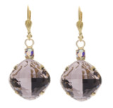 16mm Rounded Square Crystal Top Dangles