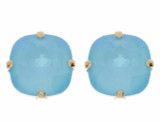 Earring - 10mm Rounded Square Studs