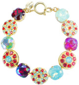 12mm Circle Sparkle Bracelet