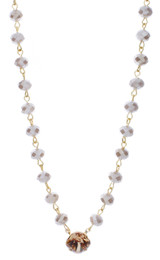 12mm Crystal Chain Necklace