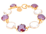 12mm Circle Glass Bracelet