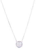 CZ Floating Crystal Necklace
