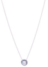 CZ Fancy Drop Necklace