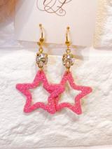 """Glimmer Star Earring """"Hawt"""""""