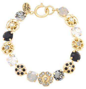 8mm Flower Sparkle Bracelet