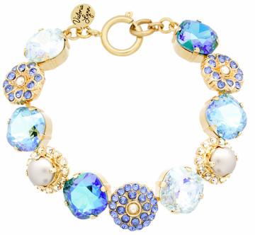12mm Pearl Sparkle Bracelet