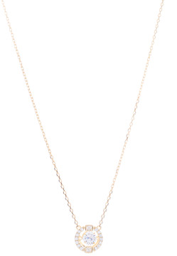 CZ Floating Crystal Necklace