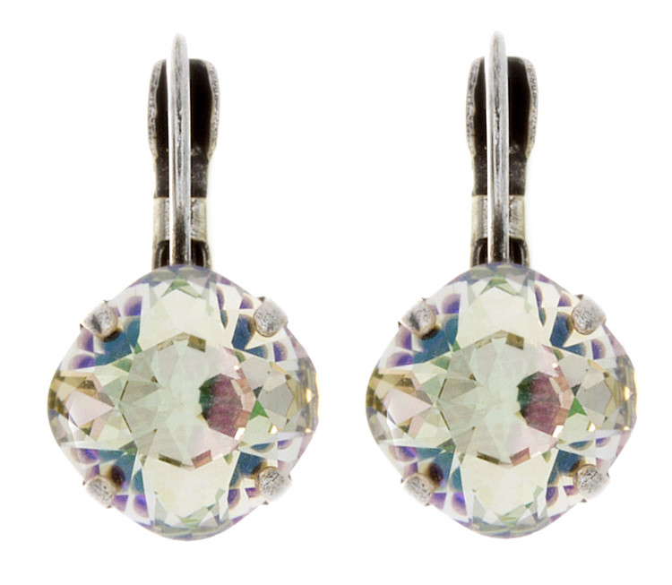 Earring - 10mm Rounded Square Dangles