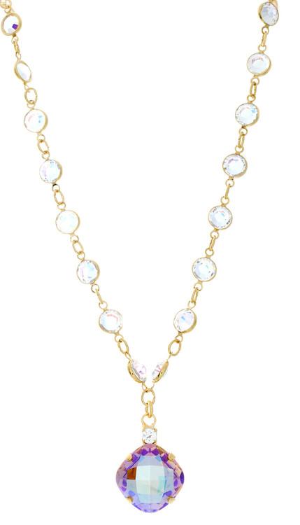 Necklace - 16mm Fancy Chain  Goldtone