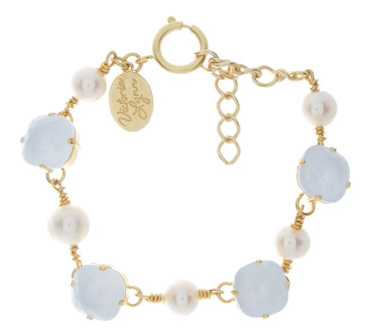 12mm Pearl Accent Bracelet