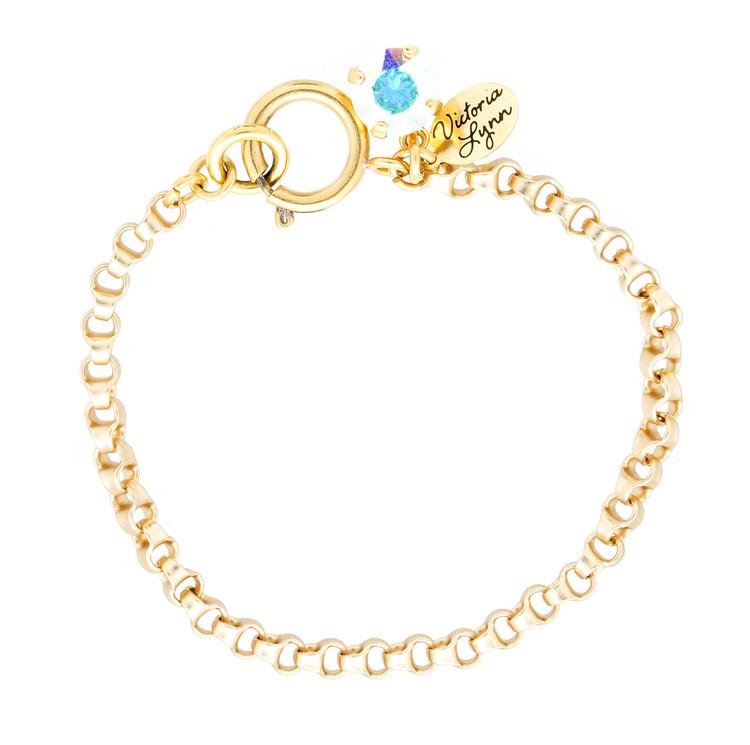 8mm Rollo Gold Bracelet