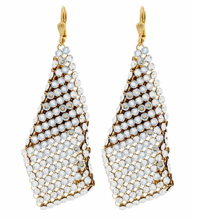 Crystal Sand Earrings