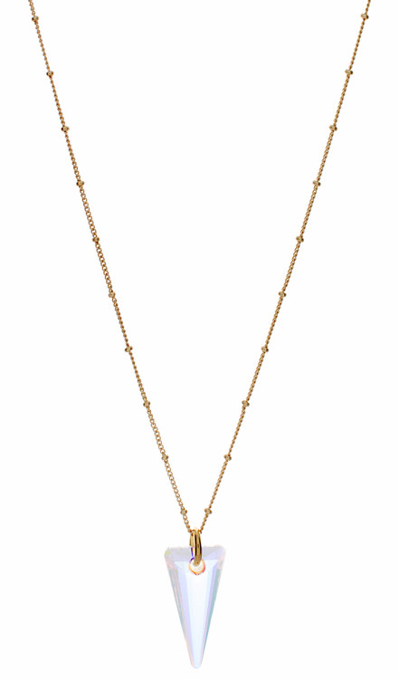 Crystal AB Kite Necklace