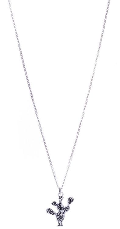 Cactus Necklace - Silver