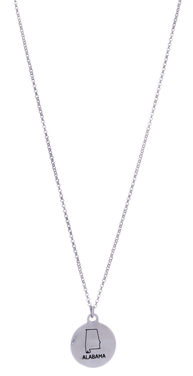 Alabama Necklace - Silver