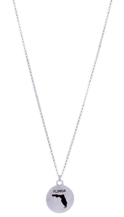 Florida Necklace - Silver
