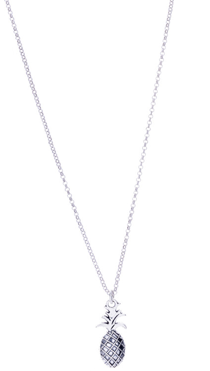 Pineapple Necklace - Silver
