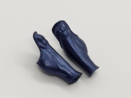 Cobalt Blue Amazon Leg Armor