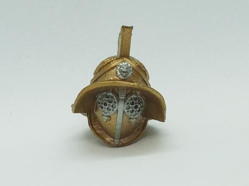 Gladiator Helmet with neck post
