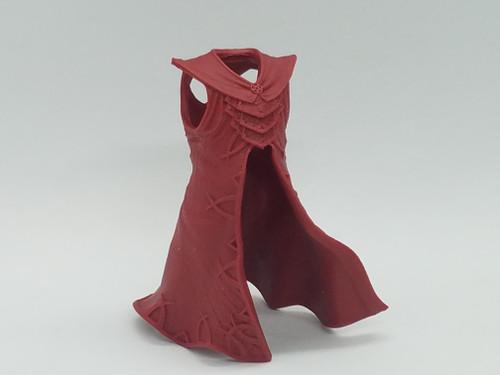 Hellfire Red Demon Coat