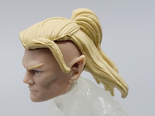 Q'al Varis - Hair