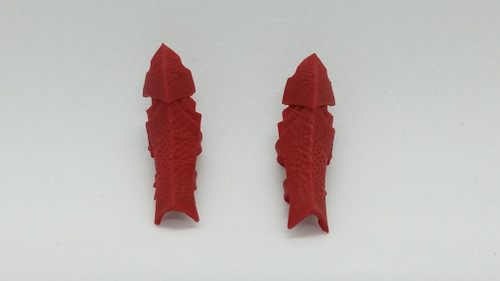 Hellfire Red Ghariala Leg Armor