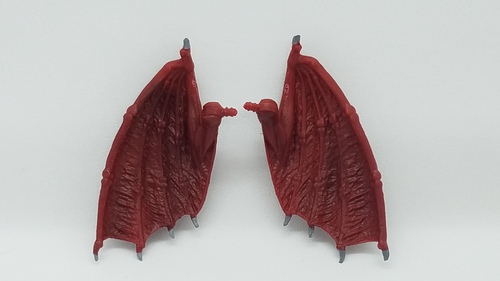 Eligor & Gormory Demons Small Wings