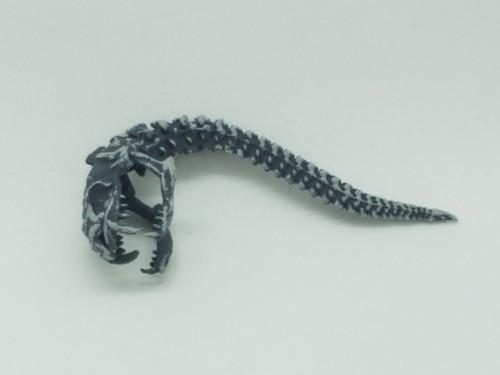 Coral Gorgon Snake Skull Helmet