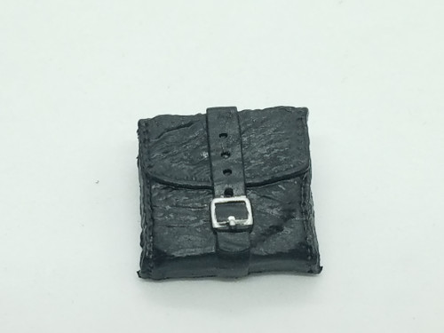 Black Australian Tack Saddle Bag
