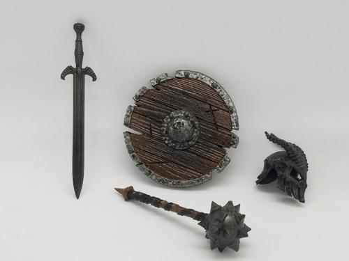 Evil Skeleton Weapons Set