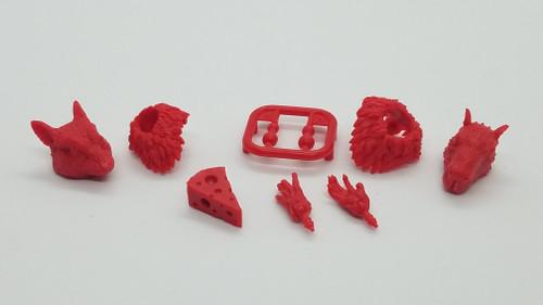 Rodent / Rat / Mouse Mini Kit Set (Red)