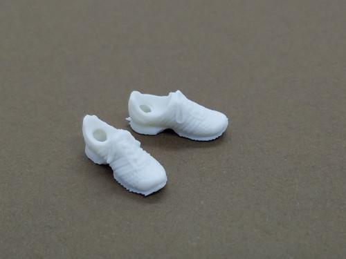 Boxer Female Shoes (White)
