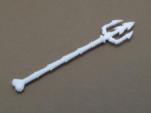 Crustacean Trident (White)